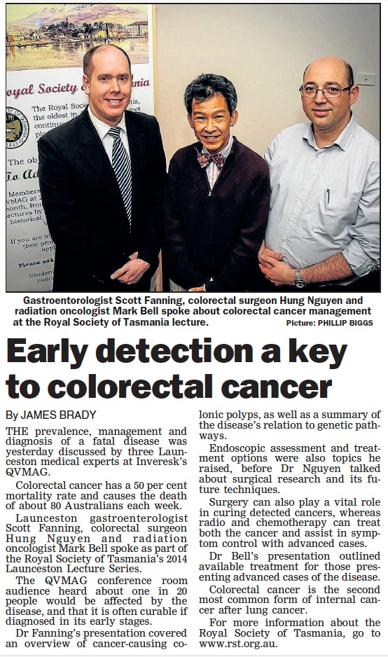 Launceston Examiner Newspaper July 28, 2014